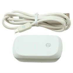 White - OEM HTC Wall Charger with USB Cable for HTC Mini USB Phones