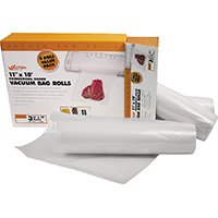 - WestonCompany 11X18' Roll 3Pk Vacuum Bags, Sold as 1 Package, 3 Each per Package