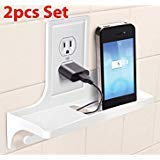 Wall Outlet Organizer Cover for iPhone Samsung Charger Tooth As Seen on TV 2 Pcs By USA_Best_Seller