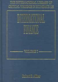 Read Online International Finance. In two volumes (The International Library of Critical Writings in Economics series) ebook
