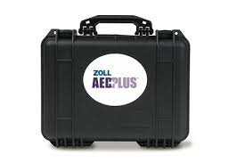 (ZOLL Medical Corp. 8000-0837-01  Large Pelican Case with cut-outs for AED Plus®, CPR-D Padz and Pedi-Pad)