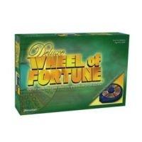 Deluxe Wheel of Fortune 25th Silver Anniversary Edition (Wheel Of Fortune 4th Edition Board Game)