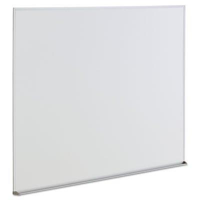 Dry Erase Board, Melamine, 48 x 36, Satin-Finished Aluminum Frame, Sold as 2 Each