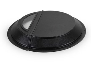 (Radon Mitigation Sump Pump Dome Cover Lid with Window to see sump pump and water level by RadonAway Radon Away)