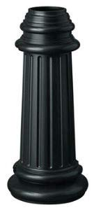 Hinkley 6680BK Traditional Post from Post Accessory collection in Blackfinish,