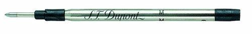 S.T. Dupont Medium Jumbo Ballpoint Refill - Black (Pack Of 2)