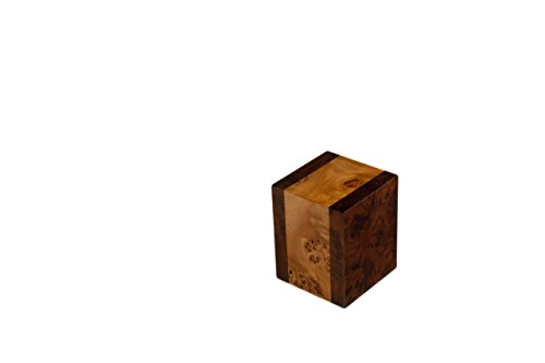 Chateau Urns, Premium Small Wood Pet Urn, Keepsake Urn, Labarde series - Keepsake Series