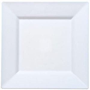 Square Plastic Plates 9.5u0026quot;-White-12 pack  sc 1 st  Amazon.com & Amazon.com: Square Plastic Plates 9.5
