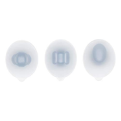 - OXO Good Grips 3 Piece Bath Suction Set, Clear