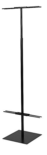 Econoco DBD96/B Adjustable Floor Standing Banner Displayer, Black