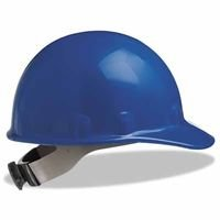 SuperEight Hard Caps, 8 Point Ratchet, Blue (27 Pack) by Fibre-Metal Hard Hat