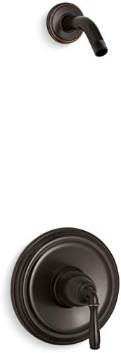 KOHLER TLS396-4-2BZ Devonshire(R) Rite-Temp(R) shower valve trim with lever handle, less showerhead ()