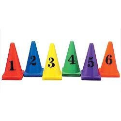 Numbered Cones Set of 36 by FlagHouse