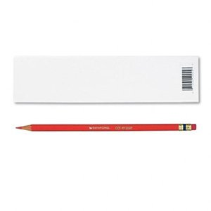 Prismacolor Col-Erase Erasable Colored Pencil VERMILION Set/12 by Prismacolor