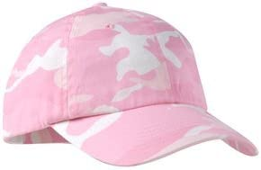 Port Authority Camouflage Cap, Pink Camo, OSFA