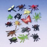 Assorted Color And Design Insect Bug Toys (1-Pack of 72)