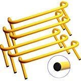 SS Sports Speed Agility Hurdle Training Set of 6 Soccer Football Basketball Track (9 inch)