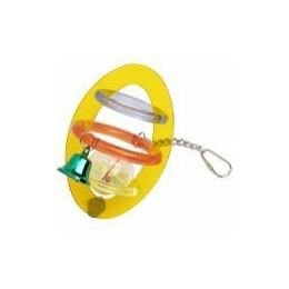 Vo-Toys Acrylic Orbit Toy w/Color Bell