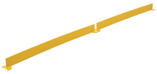 Steel Square Safety Handrails (Vestil TOE-B-108-N Toeboard for Steel Square Safety Handrail, 3.875