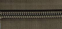 10 Yard Package of #10 Coil YKK Zipper Chain, Tan - Coil Yard 10
