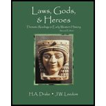 Laws Gods and Heroes : Thematic Readings in Early Western History, Drake, Hal A. and Leedom, Joe W., 078729599X