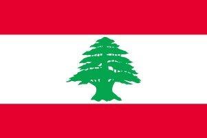 世界の国旗 レバノン 国旗 [140×210cm 高級テトロン製]   B0090ZWGEY