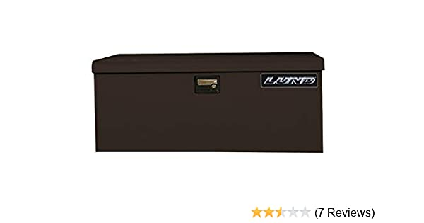 Lund//Tradesman 78048 48-Inch 16-Gauge Steel Job Site Box Black