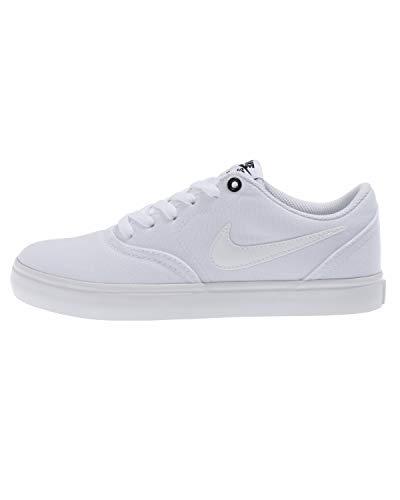 Black Nike Bianco Wmns white 110 Check Sb Scarpe Solar Da Skateboard Cnvs Donna PUqA6Pnr