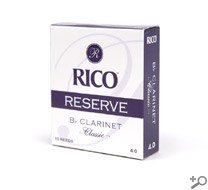 Rico Reserve Classic Bb Clarinet Reeds Strength 2.5 by Rico