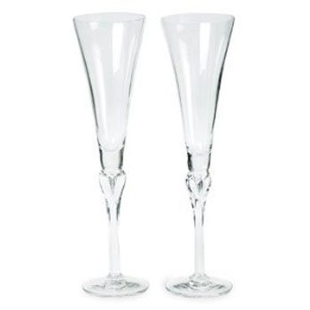 Lenox Wedding Promises Champagne Flute, Set of 2