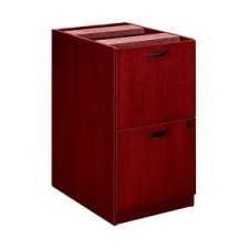 (Basyx Hard Wood Veneer Furniture-Pedestals, File/Files, 15-5/8