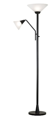 Kenroy Home 21002ORB Rush Torchiere, Oil Rubbed Bronze by Kenroy Home