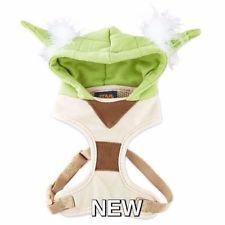 Petco Star Wars Yoda Hooded Dog Harness, -