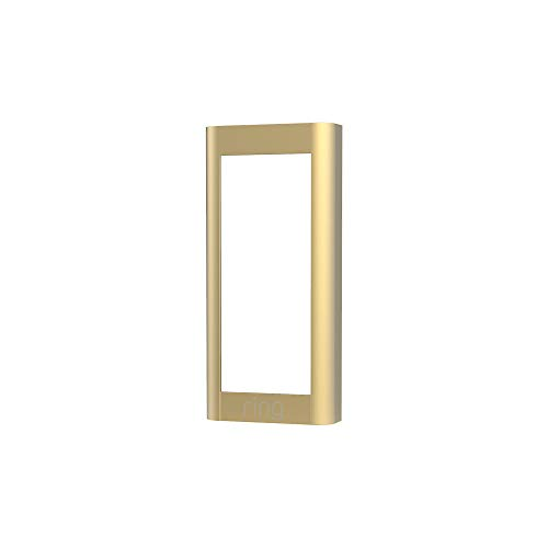 Ring Video Doorbell Wired (2021 release) Faceplate - Brush Gold