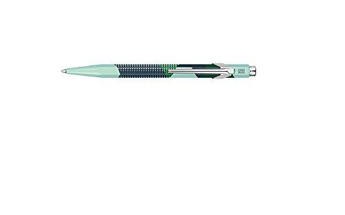 Caran D'ache Ballpoint Pen Pop Dots Opaln Grn
