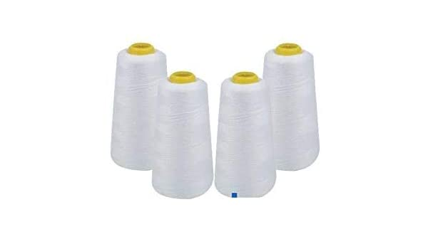 4 pack de carretes de hilo para máquina de coser hilo de coser ...