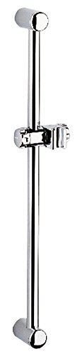 Grohe 28 666 000 24-Inch Shower Bar with Swivel Hand Shower Holder, StarLight Chrome ()