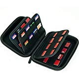 ots Storage Case Holder for SD Cards, Switch Cartridges, PS Vita and SD Cards + 4 Micro SD cards slots ()