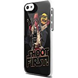 Deadpool Haen Sholo character Star and Wars For iPhone 5c White Case]()