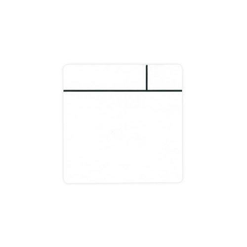 Aimant Experts Mf7575(WHS) -5Scrumboard Aimant avec surface brillant effaçable à sec, petite, Blanc (lot de 5)