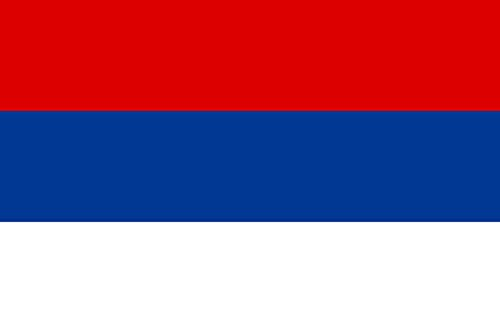 magFlags Large Flag Serbia 1835-1882   Landscape Flag   1.35m²   14.5sqft   90x150cm   3x5ft - 100% Made in Germany - Long Lasting Outdoor Flag (1882 Dictionary)