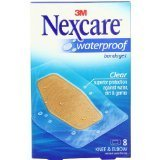 Clear Nexcare Protection Bandages Waterproof (Waterproof Bandages, Nexcare Manufactured By 3M (581-08-02 Waterproof Knee Elbow Bandages))
