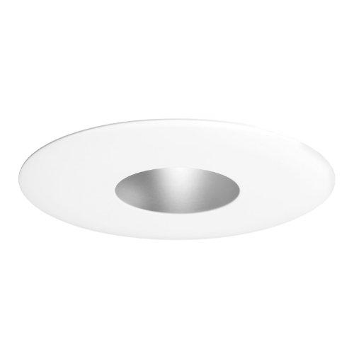 Juno Lighting 13-WH 4-Inch Pinhole Trim with Integral Shield, - Pinhole Voltage Line Trim