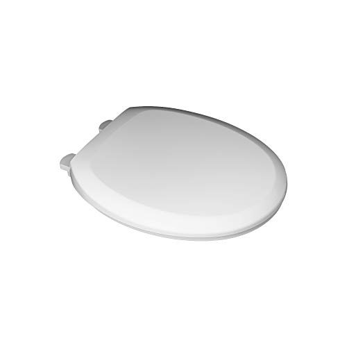 White Round Front - American Standard 5320B65CT.020 Champion Slow-Close Round Front Toilet Seat, White