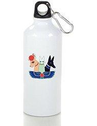 Geek Exotic Cats Deity Cool Aluminum Sports Water Bottle - 400/500/600ML 400ml