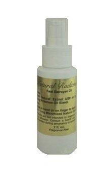 Eclat Naturel Estrogen / Estriol pompe mesurée bouteille d'huile, sans soja et sans parfum, 2 once