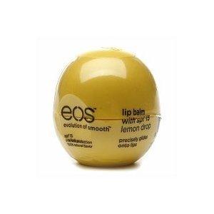 eos Lip Balm Sphere , Lemon Drop 1 ea order SPF 15 - .25 oz