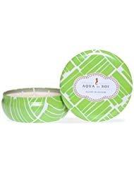 SOI Company Aqua de SOi 100% Premium Natural Soy Candle, Triple Wick, 21 Ounces (Agave Blossom) by SOI Company