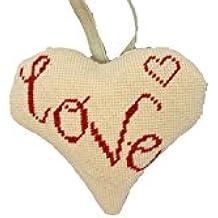 Cleopatra's Needle Love Lavender Heart Tapestry Kit