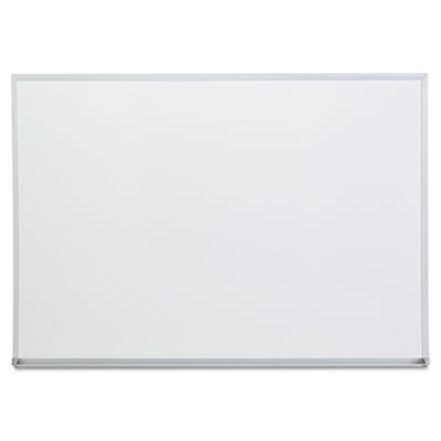 Dry Erase Board, Melamine, 48 x 36, Satin-Finished Aluminum Frame, Sold as 2 Each by Universal